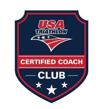 USA Triathlon certified coach club logo