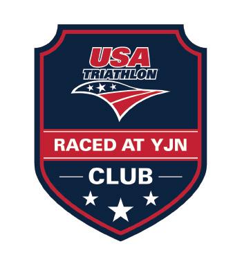USA Triathlon Raced at YJN club logo
